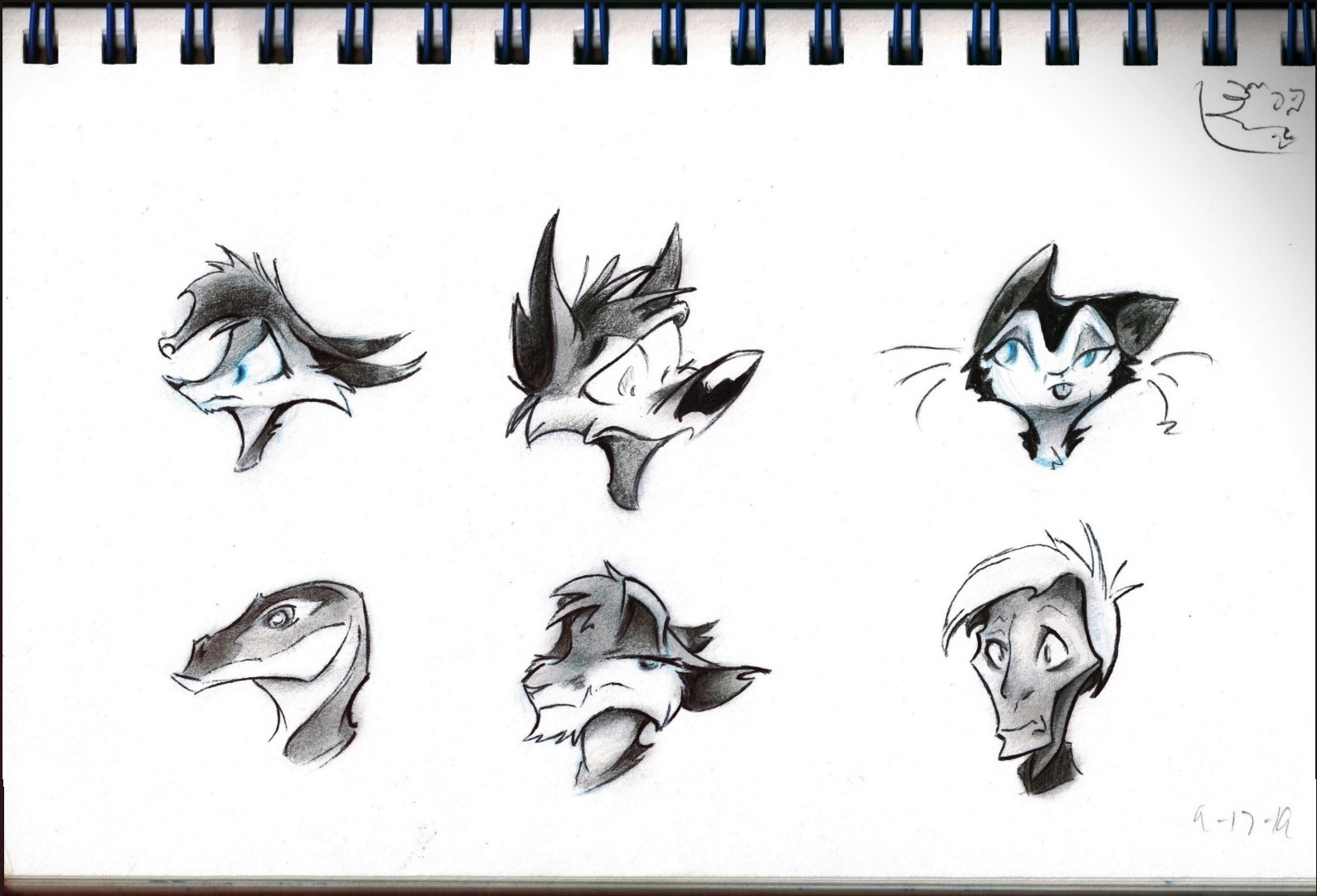 Some random character headshots