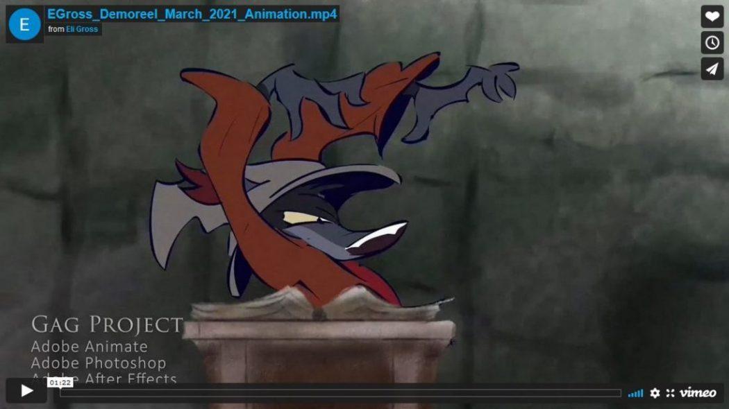 Animation Demo Reel – May 2021