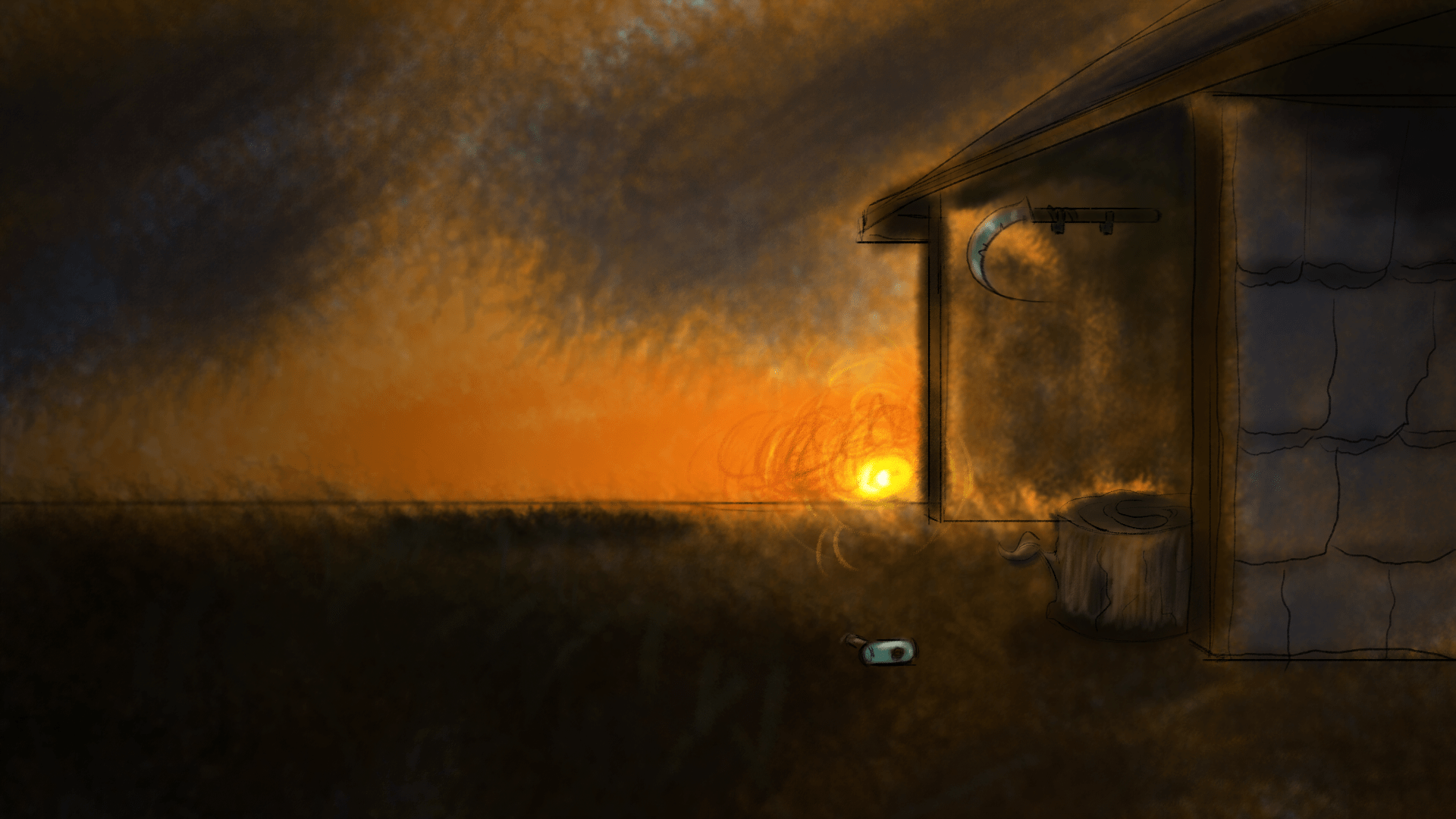 Stable Sunset